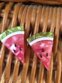 Erstwilder Watermelon Wedges Earrings Brand New in Box - limited edition pierced fitting earringSOLD